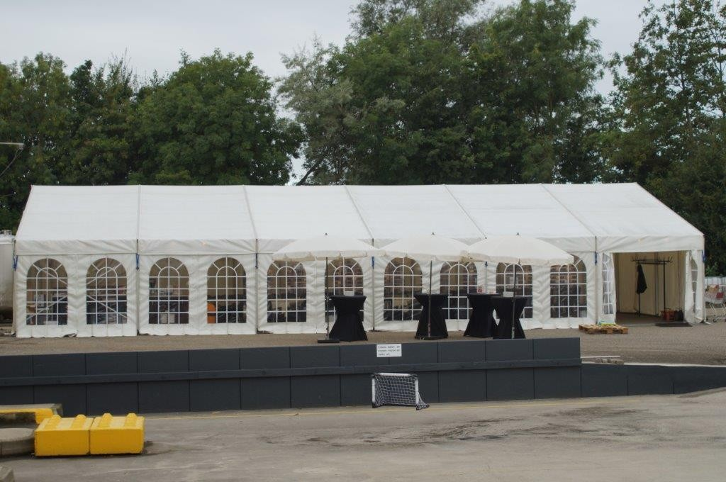Alu spant tent